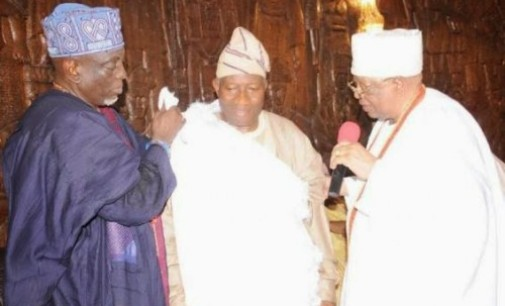 Obas don't compel people on who to Vote – Awujale to Jonathan