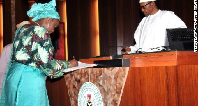 BREAKING: Minister of Finance Kemi Adeosun resigns