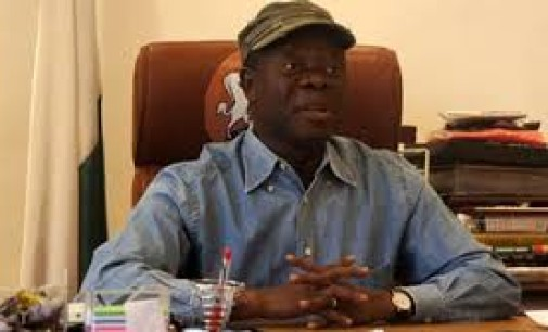 N18,000 MINIMUM WAGE: Oshiomhole disowns govs, backs workers