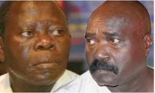 Governor Oshiomole blasts Igbinedion and son