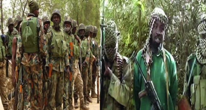 105 Nigerian Soldiers missing after Boko Haram raid