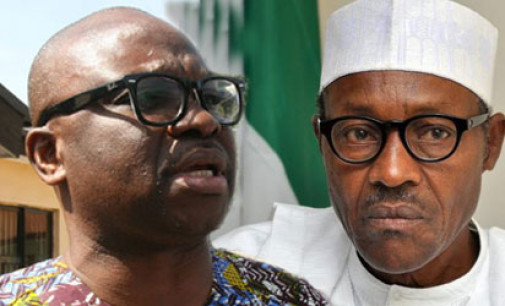 You're sick and tired, go home and rest, Fayose tells Buhari