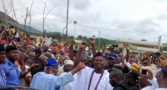 Ooni's Coronation: Security beefed up in Ile-Ife