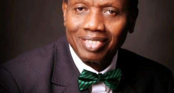 Pastor Adeboye warned sinners not to give offerings in church anymore