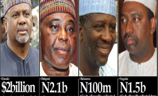 Casted! Dasuki names ex-Governors, others in 2.1b scandal