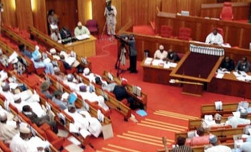 Senate splits over passage of 2019 elections order bill