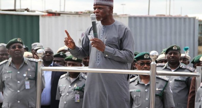 Customs Promote 2,634 Officers