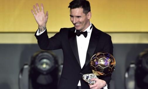 Lionel Messi wins record fifth Ballon d'Or