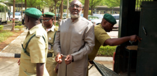 Metuh fell down on his own, says Judge