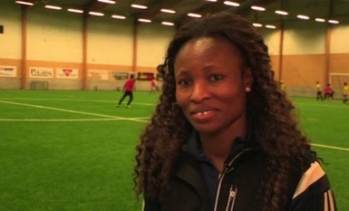 Nigerian football star now coaching migrants in Sweden