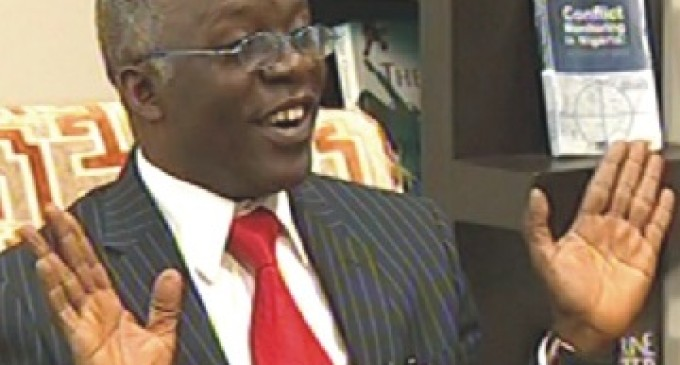EXPOSED: Man giving Igbo quit notice lives in Lagos – Falana