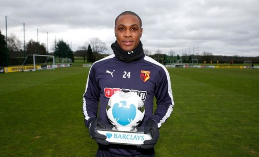 Super Eagles' Odion Ighalo wins best player in England