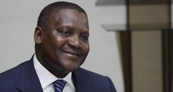 Dangote plans to own Arsenal in next three years