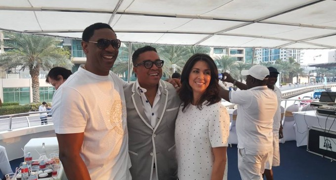 Like a social butterfly, Coza's Pastor Fatoyinbo throws opulent All White Yacht Party in Dubai