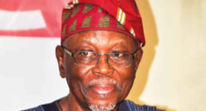 There is something fishy about APC chairman, John Odigie-Oyegun