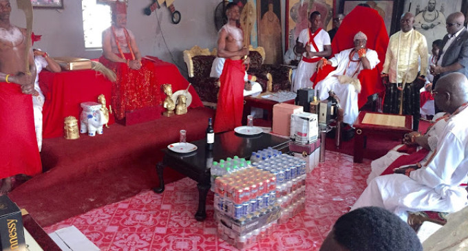 Like Ooni of Ife, Olu of Warri pays historic visit