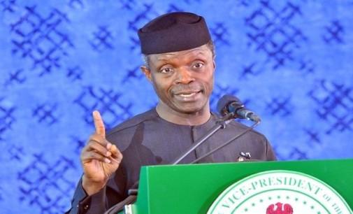 Osinbajo, ex-CBN Governor, Sanusi 'clash' over naira devaluation