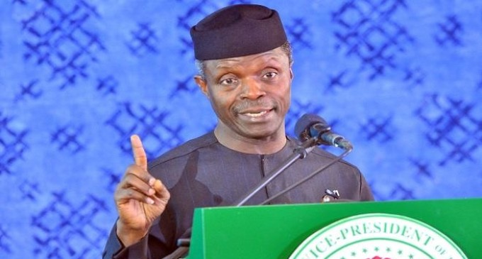 Osinbajo, ex-CBN Governor, Sanusi 'clash' over naira devaluation