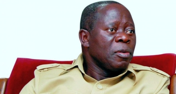 Oshiomhole warns APC leaders against adoption of aspirants