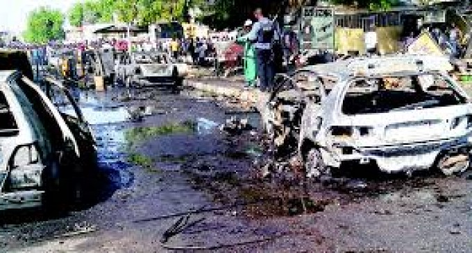 Three suspected female suicide bombers killed in Adamawa