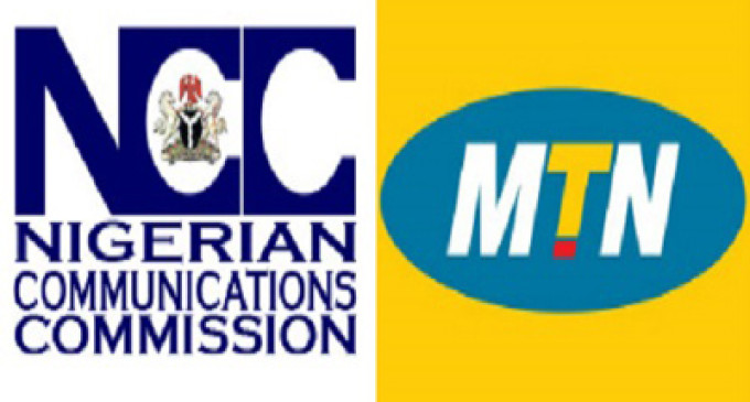 NCC intervenes in CBN's cash refund order to MTN