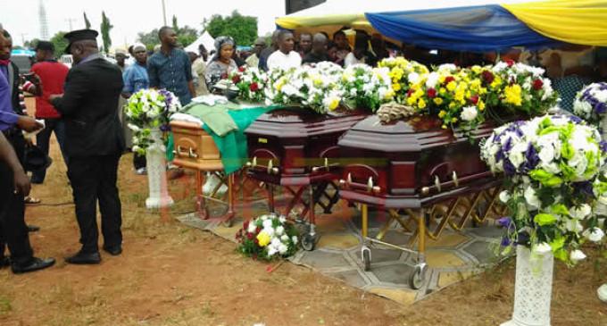 Ocholi, wife, son buried in hometown amid tears