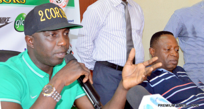 Siasia invites 42 players for Egypt clash