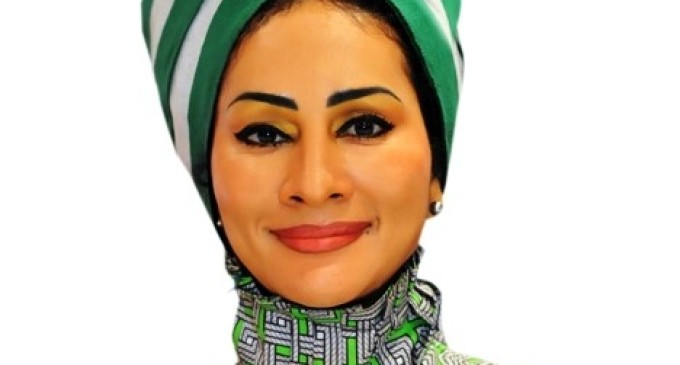 Patriot or pretender? Why Sally Mbanefo covers her neck with Nigerian scarves