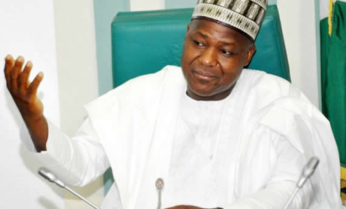 Economic Crisis: Dogara seeks traditional rulers' support for Buhari