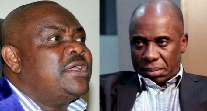 Wike, Amaechi clash over helicopters