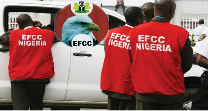 EFCC grills five ex-NNPC bosses over $153m transfer as Commission moves to seize ex-minister's posh estate