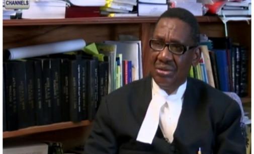 Sagay to FG: Obey court orders on Dasuki, El-Zakzaky