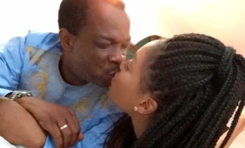 Dabota Lawson celebrates huband's birthday with a loving message and romantic pictures