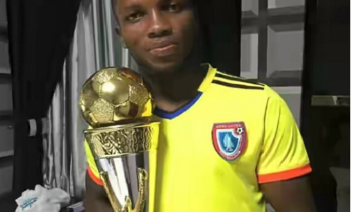 Ubong Ekpai not Macaibi Haifa player