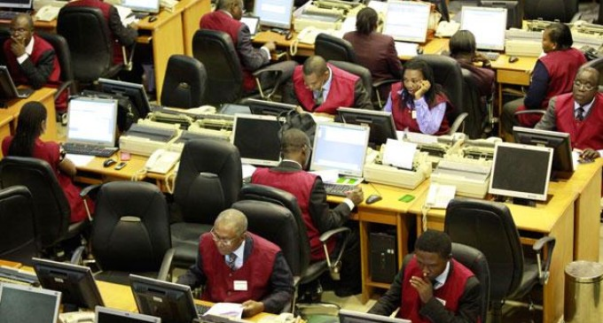 Nigerian equities down as global stock market plunges
