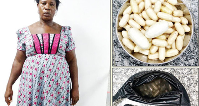 Woman fakes pregnancy with N20m cocaine at Lagos airport