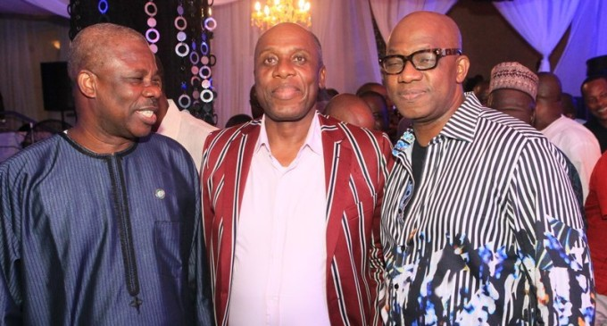 Exclusive! Governors, Billionaires, Oil Magnates, Politicians, celebrities and celebutantes stormed Dapo Abiodun's high-octane birthday party
