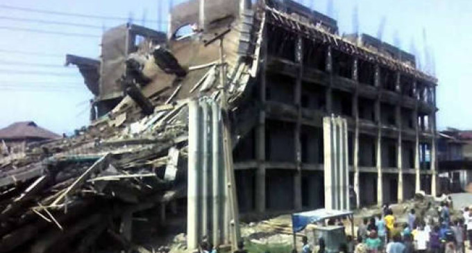 Government Building Collapses In Ogun