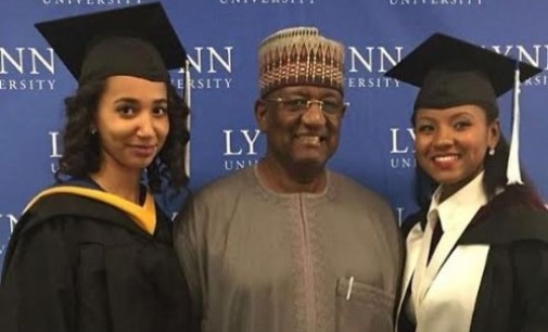 It runs in the family… Mohammed Indimi's wards establish ties with Nigeria's supermen