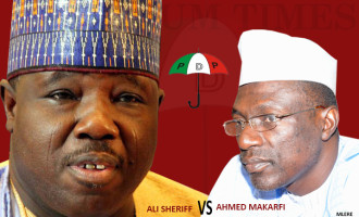 Makarfi visits Sheriff, PDP factions seek end to crisis