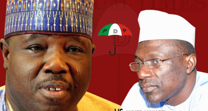Makarfi visits Sheriff, PDP factions seek end to crisis