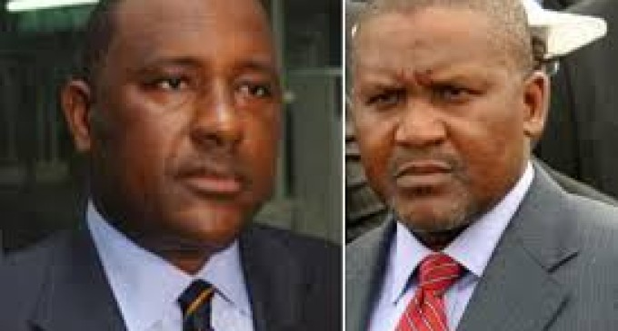 Clash Of The Titans! BUA Boss, Samad Rabiu Battles Aliko Dangote…Writes Buhari, Accuses Dangote, Mines Ministry of Sabotage