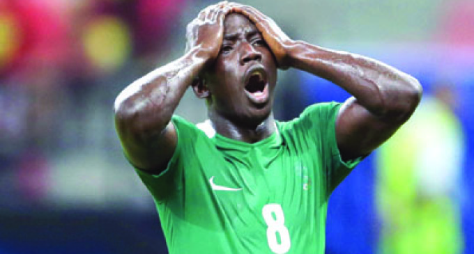 Etebo ruled out of Honduras clash