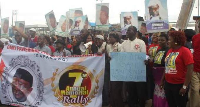 Buhari Has Failed The Masses, Says Gani Fawehinmi's Supporters