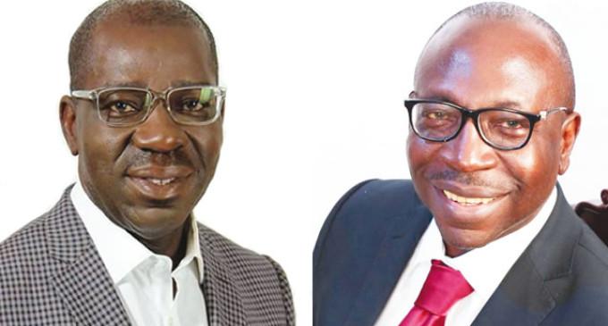 Edo election: Ize-Iyamu, Obaseki in close race as Oyegun loses in his polling unit
