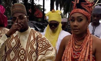 In their fathers' name…Lucky Igbinedion's daughter Orobosa Igbinedion marries Ibrahim Mantu's son, Umar