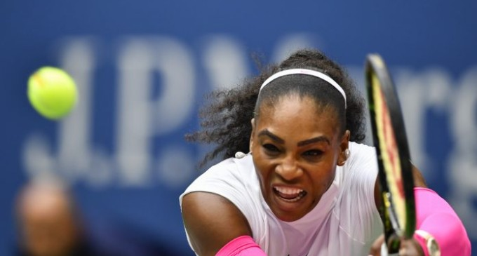 No end in sight for on-song Serena