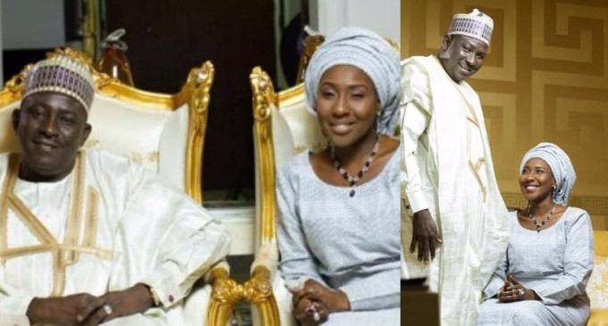 Domestic violence ! How crashed marriage with four kids forced Buhari's daughter to become fourth wife