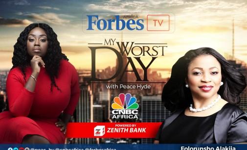 Folorunsho Alakija Speaks on Forbes Africa's My Worst Day Show