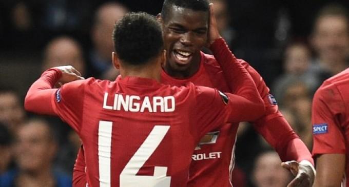 Pogba hits brace as Man United trounce Fenerbahce